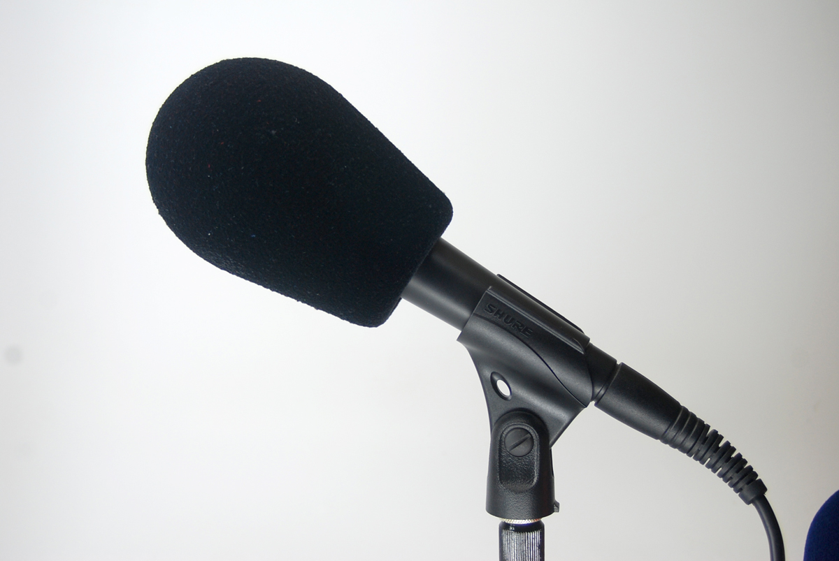 Windscreen Microphone